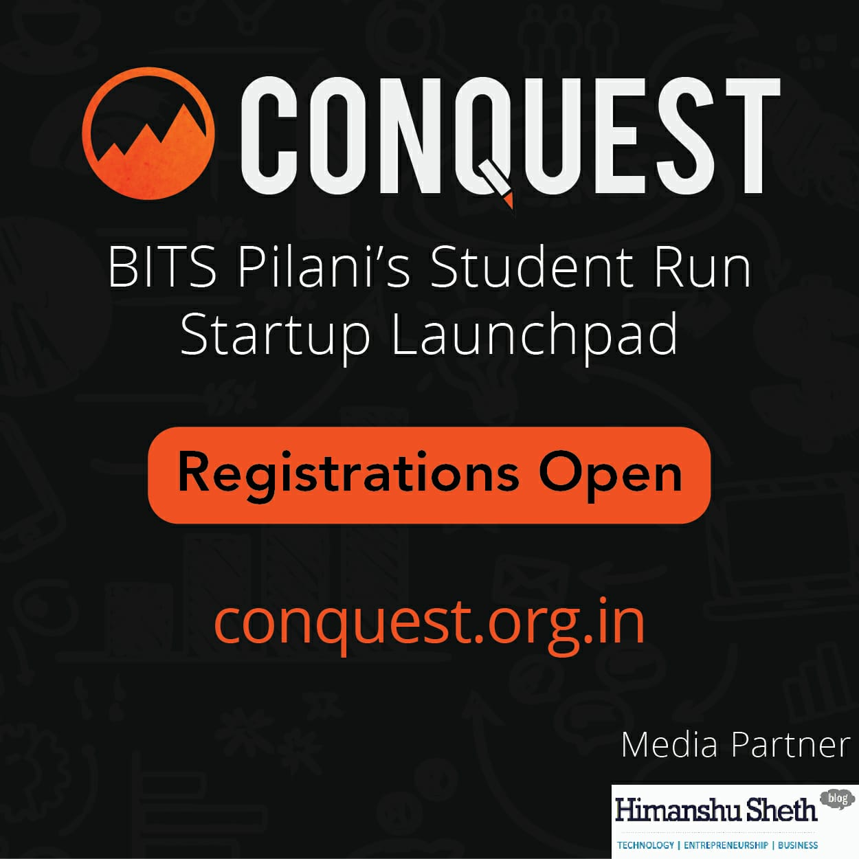 Conquest - India's first Student-Run Startup Launchpad by BITS Pilani