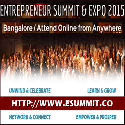 Attend Entrepreneur Summit & Expo 2015, December 2015