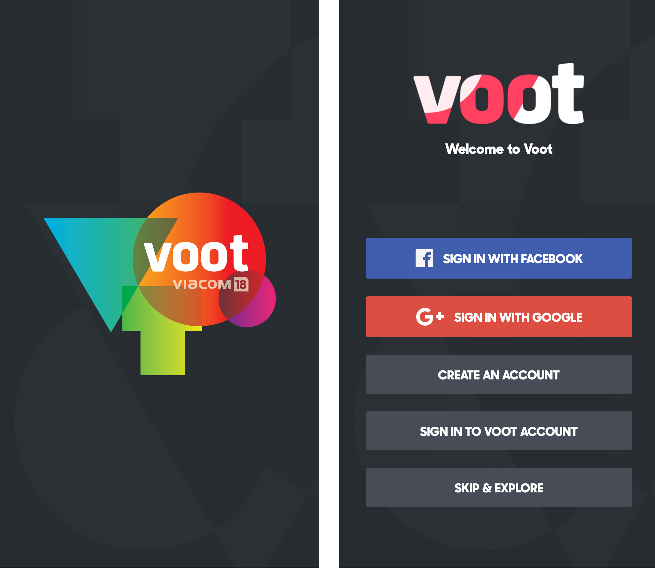 voot means in hindi